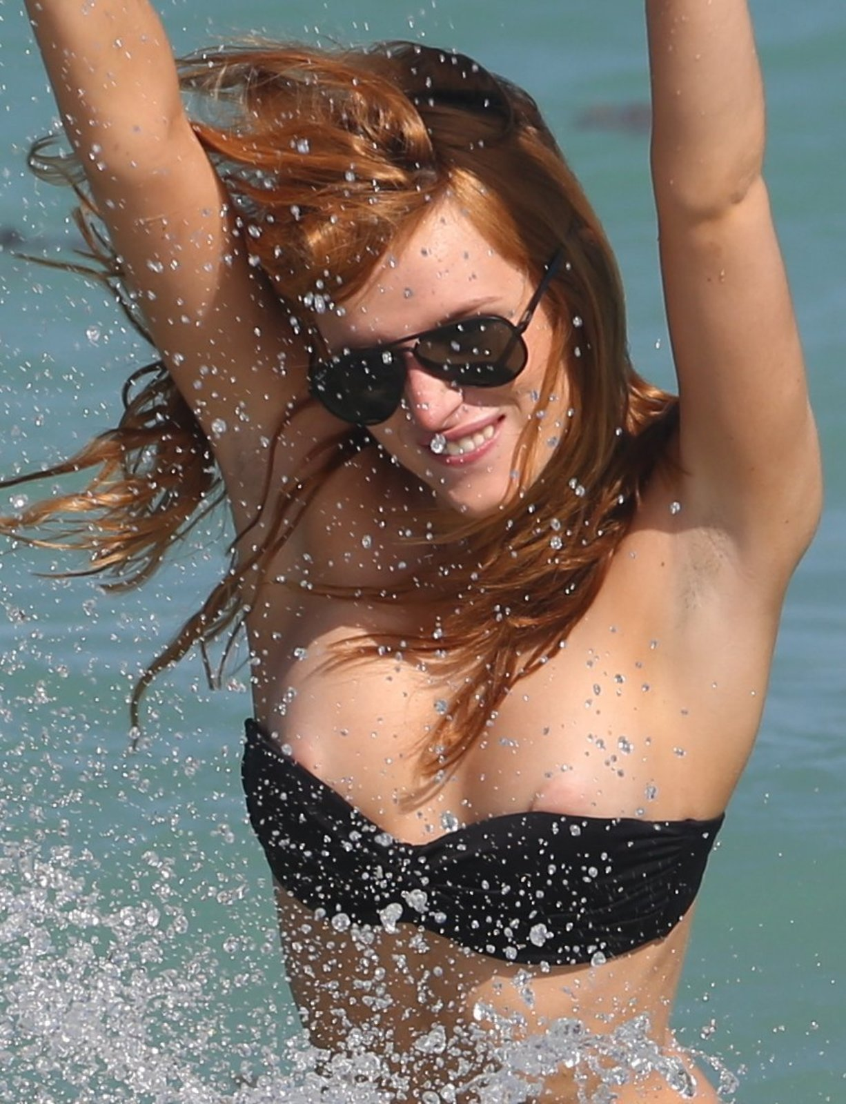 Bella Thorne hot boobs