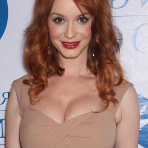Christina Hendricks busty redhead