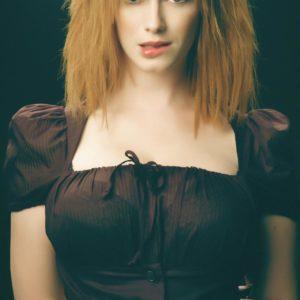Christina Hendricks 38DDD breasts