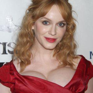 Christina Hendricks watermelon boobs