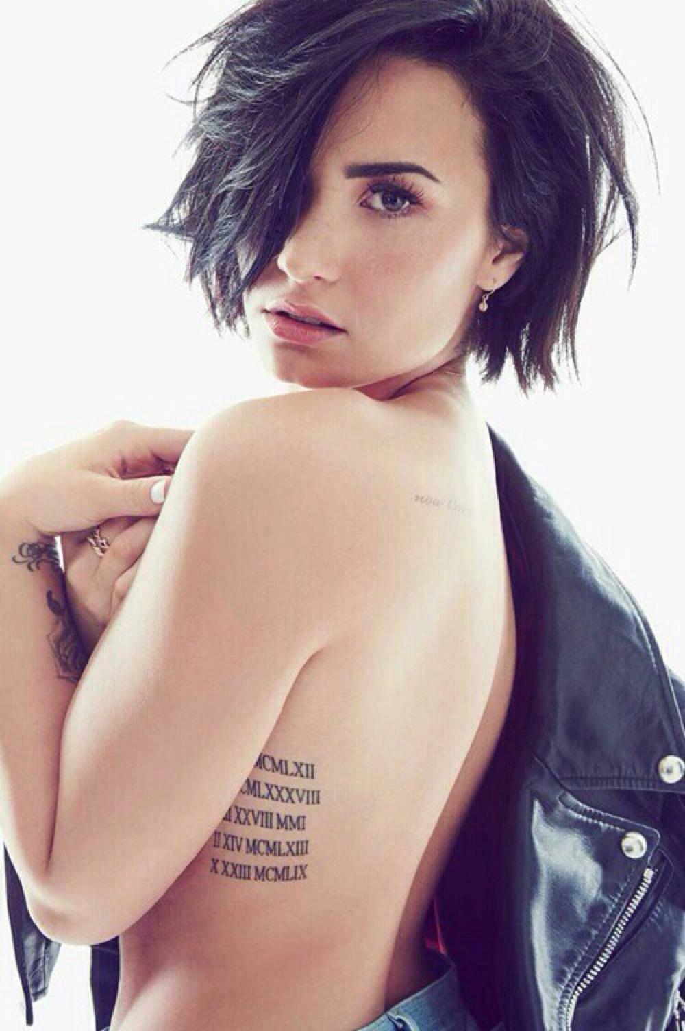 Demi Lovato doggystyle