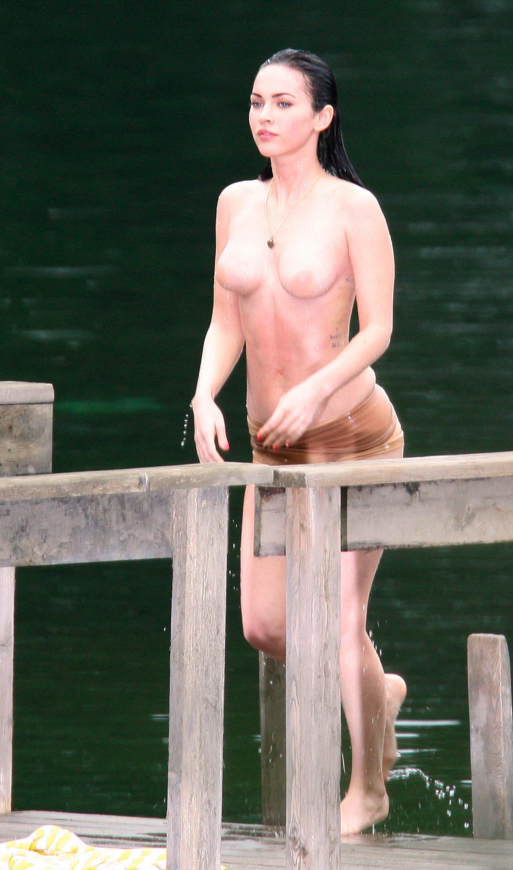 Megan Fox topless pic