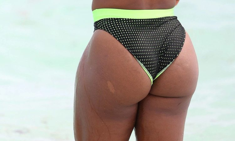 Serena Williams big ass on the beach