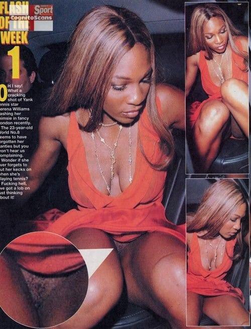 Serena paparazzi upskirt