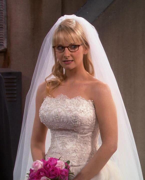 Melissa Rauch bride