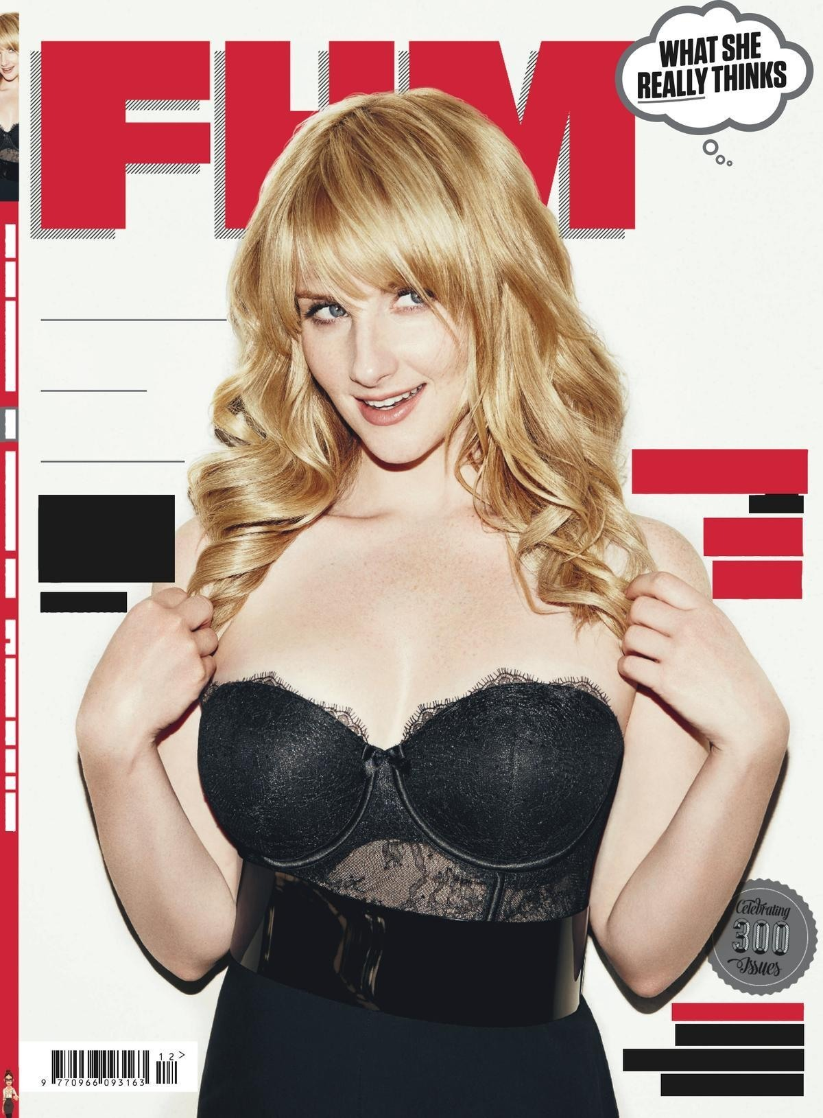 Melissa Rauch FHM cover