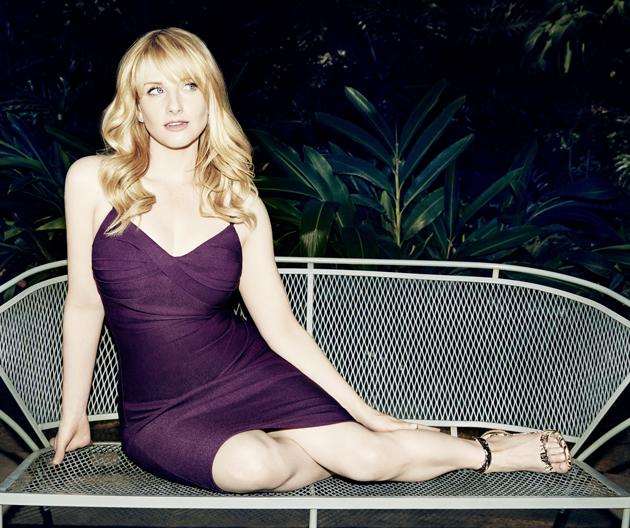 Melissa Rauch hot dress